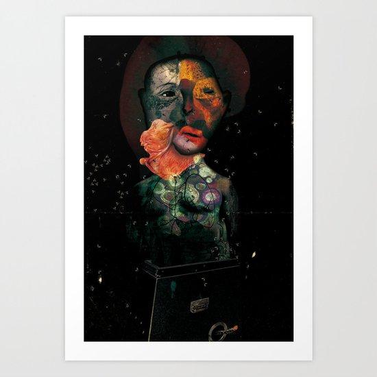 VISCERALE BOX 3 Art Print