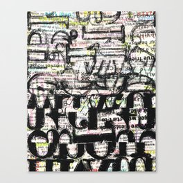 Word Canvas Print