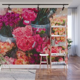 All The Carnations Wall Mural