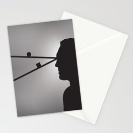 The Prisoner is Being Tested Stationery Cards