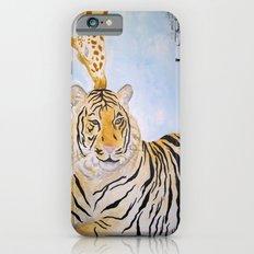 Giraffe Kissing Tiger Slim Case iPhone 6s