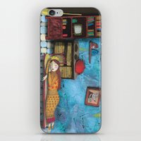 cinderella iPhone & iPod Skins featuring Cinderella by Agnes Laczo