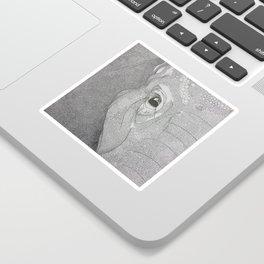 A mazing elephant II Sticker