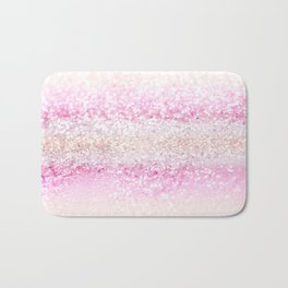 Unicorn Girls Glitter #2 #shiny #pastel #decor #art #society6 Bath Mat