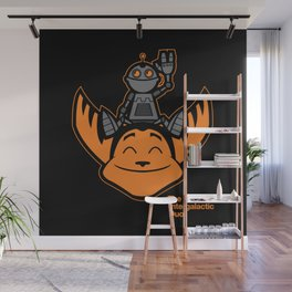 Ratchet & Clank Wall Mural