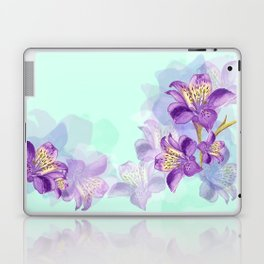 Purple Lilly Laptop & iPad Skin