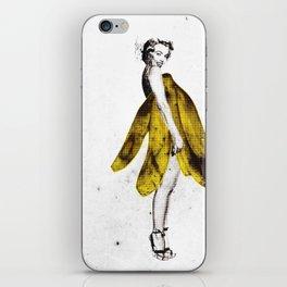 a lady's dream iPhone Skin