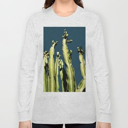 Cactus - blue Long Sleeve T-shirt