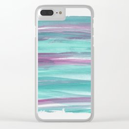 Mermaid Abstract Minimalism #1 #minimal #ink #decor #art #society6 Clear iPhone Case