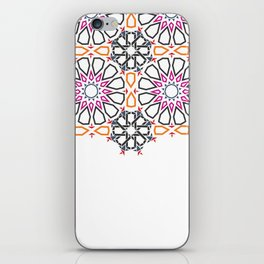 Moroccan Mosaic Colorful 2 iPhone Skin