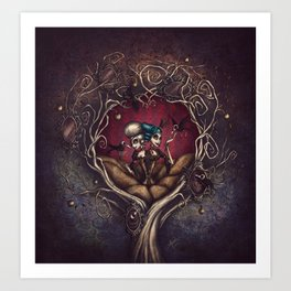Sisters of Sorrow Art Print