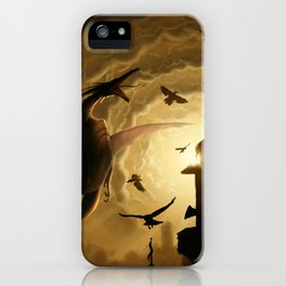 Dragon Rider iPhone Case