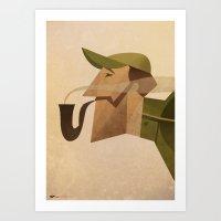 Reginald Art Print