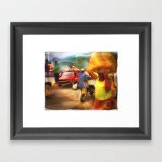 A Days Work Framed Art Print