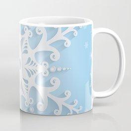 Snowflake background Coffee Mug