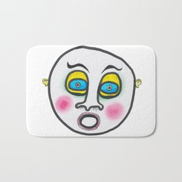 Blushing fool! Bath Mat
