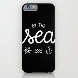 By the sea #2 iPhone Case