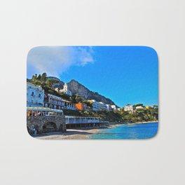 Capri, Italy Amalfi Coast Bath Mat
