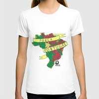 portugal T-shirts featuring Força Portugal by iso. isodesignworld
