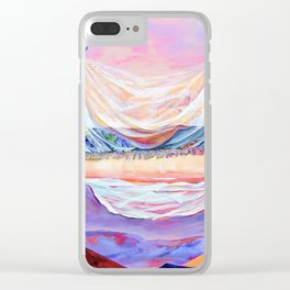 GO BEYOND THE HORIZON Clear iPhone Case