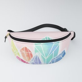 Crystals Pink Fanny Pack