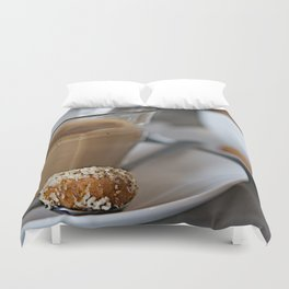 CoffeeCups Duvet Cover