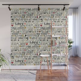 positively awesome Wall Mural