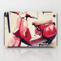 vespa iPad Cases featuring vespa by iokk