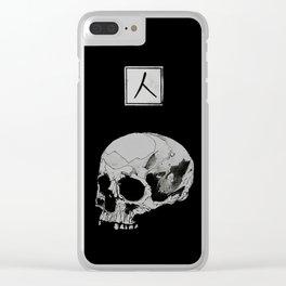 UNDULGE Clear iPhone Case