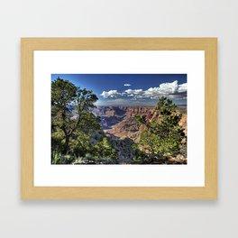 Grand Canyon Vista South Rim Framed Art Print