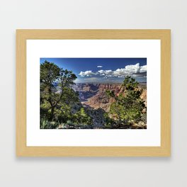 Grand Canyon Vista South Rim Framed Art Print