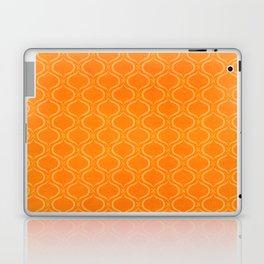 Retro Tangerine Print / Geometric Pattern Laptop & iPad Skin