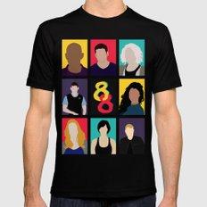 Sense8 Colors Black Mens Fitted Tee MEDIUM
