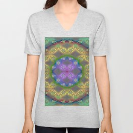 ff - pattern otherwise Unisex V-Neck