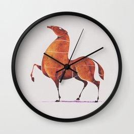 Horse 5 Wall Clock