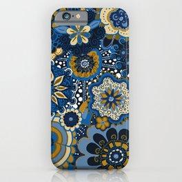 Mandala Floral Loveliness iPhone Case