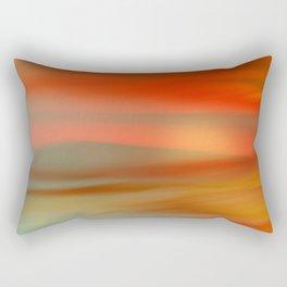 Desert Sunrise Rectangular Pillow