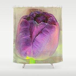 Purple Crush Shower Curtain