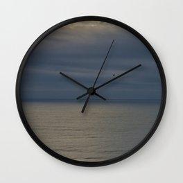 Watching the sunrise Wall Clock