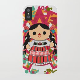 Maria 4 (Mexican Doll) iPhone Case