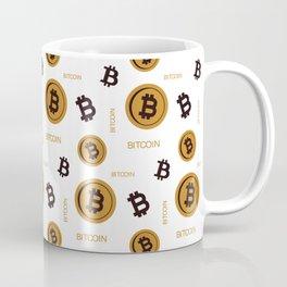 BITCOIN PATTERN Coffee Mug