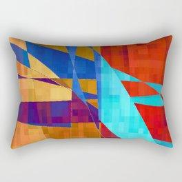 flash flood Rectangular Pillow