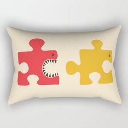 Puzzle Monster Rectangular Pillow