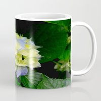 hydrangea Mugs featuring Hydrangea  by Chris' Landscape Images & Designs