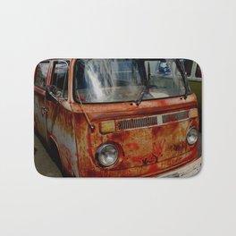 rusted bus Bath Mat