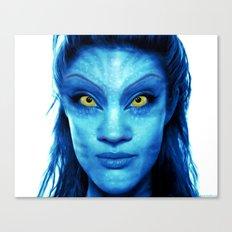 Angelina Jolie Avatar Canvas Print