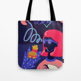 Love, hyptnotic Tote Bag