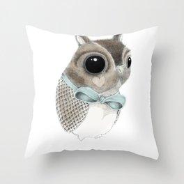 Mister Hoot Throw Pillow