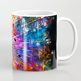 lionfish splatter watercolor Coffee Mug