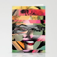 marilyn Stationery Cards featuring Marilyn by mark ashkenazi